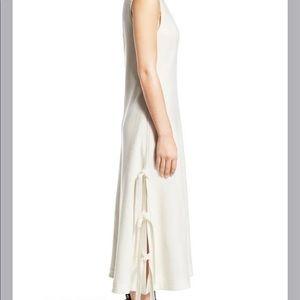 Proenza Schouler NWT size 8 midi dress w/side ties